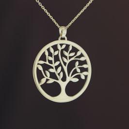 """Anhänger """"Lebensbaum"""" aus 585-Gelbgold"""
