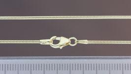 Halskette (Schlange) aus 333-Gelbgold