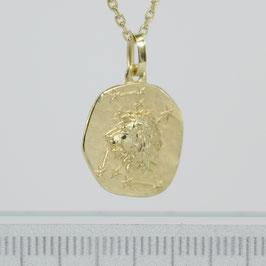 """Anhänger """"Sternzeichen Löwe"""" aus 333-Gelbgold"""