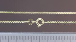 Halskette (Venezia, rund) aus 333-Gelbgold