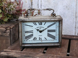 Chic Antique Tischuhr Zink