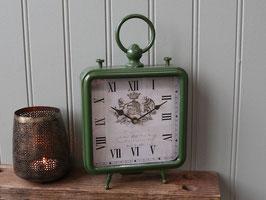 Chic Antique Tischuhr grün
