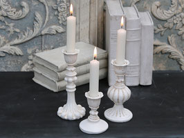 Chic Antique Kerzenständer antique creme