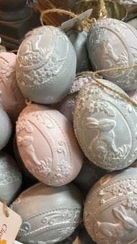 Rosa und Graue Eier Clayre & Eef