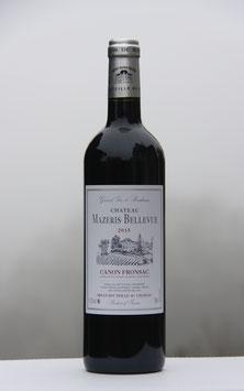 Château Mazeris Bellevue 2015 - carton de 6 btls à 15 € la bouteille
