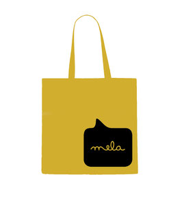Mela Tote Back - Yellow/Black