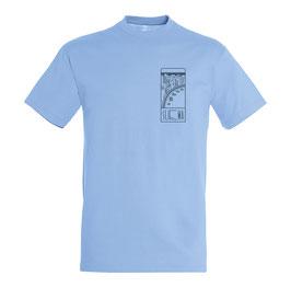 Unisex Sliema Tshirt Sky Blue