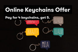 Keychains Offer