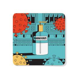 Karnivirus Coaster