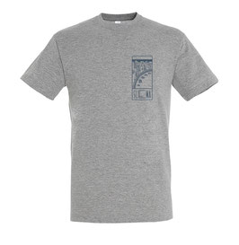Unisex Sliema Tshirt Grey