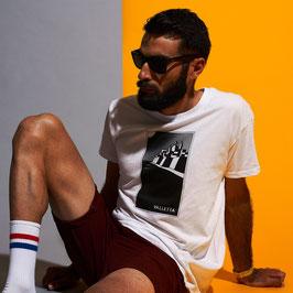 Unisex Valletta Tshirt White