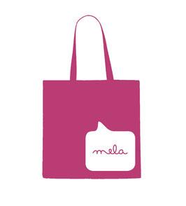 Mela Tote Back - Pink/White
