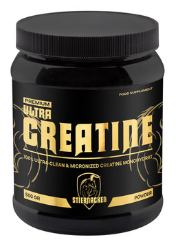 STIERNACKEN - ULTRA CREATINE POWDER 500g