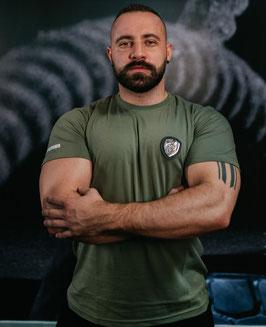 STIERNACKEN - Platin Line T-Shirt Army Green