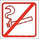 Nicht Rauchen Aufkleber