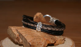 Armband MenStyle Black & Brown