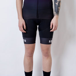 BLACK WOMEN BIB SHORTS