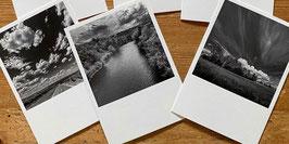 Set mit drei Postkarten