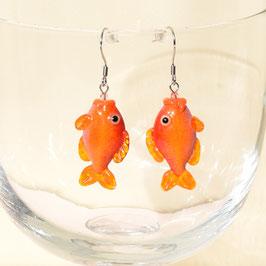 Ohrringe Goldfisch