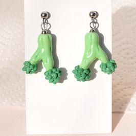Ohrstecker Broccoli