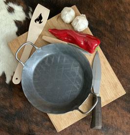 24 cm Eisenpfanne, geschmiedet