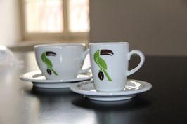 Espressotasse mit Unterteller | 6 cm