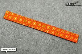 """Bracelet lanière Petit Pan motif """"Jalila"""" & son bracelet coordonné réglable"""