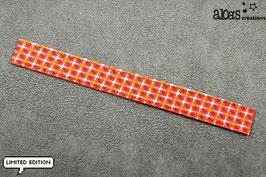 """Bracelet lanière Petit Pan motif """"Ingo"""" & son bracelet coordonné réglable"""