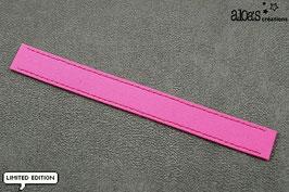 """Bracelet lanière Petit Pan motif """"Rose Petit Pan"""" & son bracelet coordonné réglable"""
