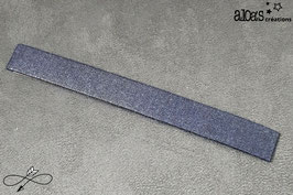 Bracelet lanière tissu Froufrou Tout ce qui brille Navy