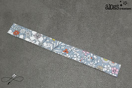 "Bracelet lanière tissu liberty of London ""Junes Meadow"""