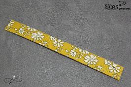 Bracelet lanière tissu liberty of London Capel ocre