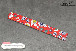 """Bracelet de Février """"Dites lui avec des Fleurs"""""""