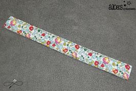 Bracelet lanière tissu liberty of London Eloïse mint