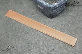 Bracelet lanière satin chair