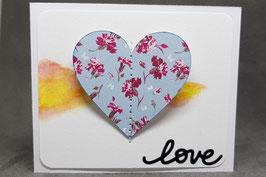 """Carte cadeau édition """"Love"""""""