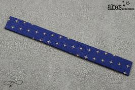 "Bracelet lanière motif cravate ""Working girl"""