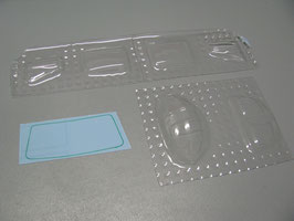 Cockpitfenster für die 450er UH1 von HeliArtist, Roban, Skyrush