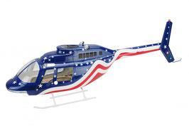 Cockpitfenster für Bell 206 Jet Ranger von Roban