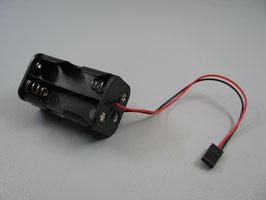 AA Batteriehalter mit JR Stecker