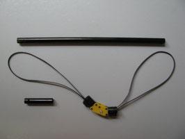 Heckumlenkung (Riemenantrieb) für 450er UH1