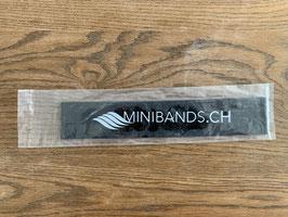 Original Miniband von Blackroll schwarz + rot