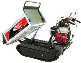 Minitransporter/Motocarriola cingolata GK500HEi, 500Kg sollevamento idraulico.  Motore HONDA