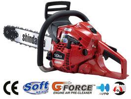 MOTOSEGA SUPER PRO SHINDAIWA 501SX 50.2cc BARRA DA 45cm