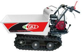Minitransporter/Motocarriola cingolata GK300HD, 300Kg sollevamento manuale. Motore HONDA