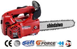 MOTOSEGA DA POTATURA A SCOPPIO SHINDAIWA 280 TS,  26.9cc BARRA DA 25cm