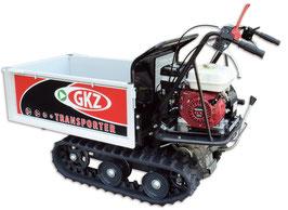 Minitransporter/Motocarriola cingolata GK500H, 500Kg sollevamento manuale.  Motore HONDA