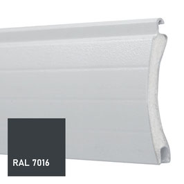 Lame ALU 42 GRIS ANTHRACITE RAL 7016
