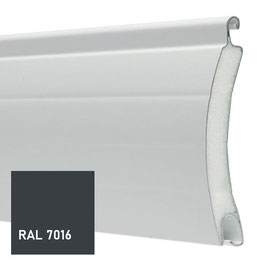 Lame ALU 55 GRIS ANTHRACITE RAL 7016