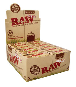 Raw Organic Hemp Rolls - Box